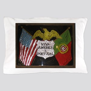 Portugese American Pillow Case