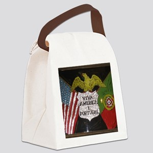 Portugese American Canvas Lunch Bag