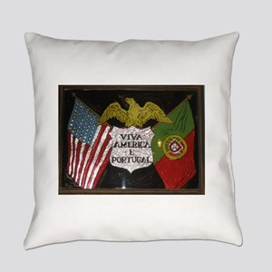 Portugese American Everyday Pillow
