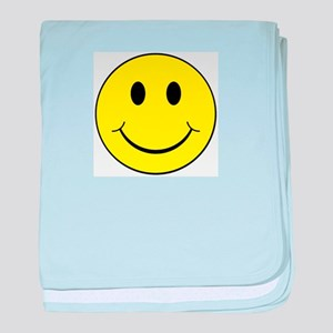 Smiley Face baby blanket