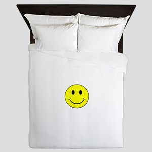 Smiley Face Queen Duvet