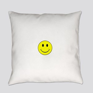 Smiley Face Everyday Pillow