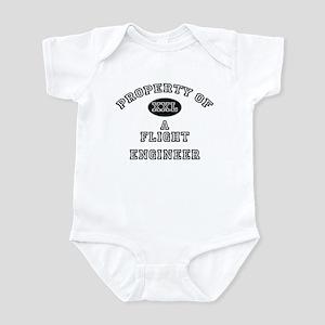 Property of a Flight Engineer Infant Bodysuit