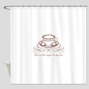 Sugar In Tea Shower Curtain