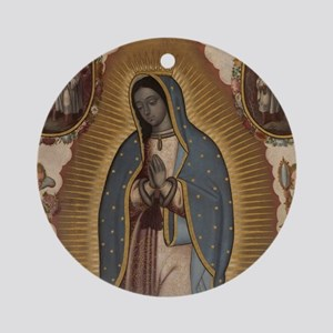 Virgin of Guadalupe. Round Ornament
