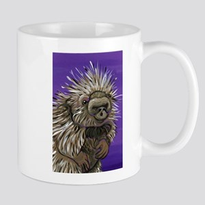 Purple Porcupine Mugs