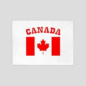 Canada Day Canada Flag 5'x7'Area Rug