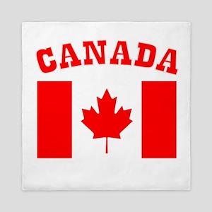 Canada Day Canada Flag Queen Duvet