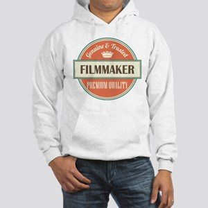 filmmaker vintage logo Hooded Sweatshirt