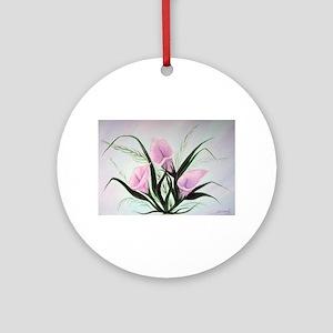 calla lily bouquet Round Ornament