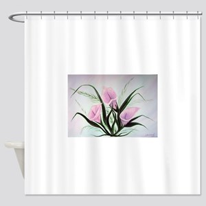 Calla Lily Bouquet Shower Curtain