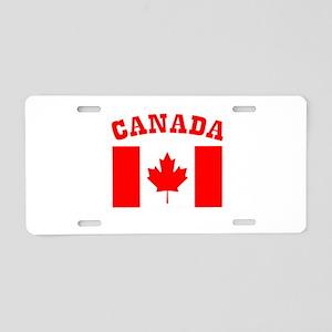 Canada Day Canada Flag Aluminum License Plate