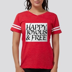 Happy Joyous & Free Ash Grey T-Shirt