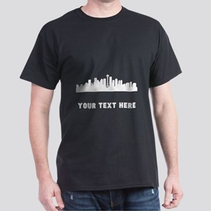 Seattle Cityscape Skyline (Custom) T-Shirt
