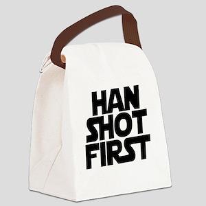 Han shot first Canvas Lunch Bag