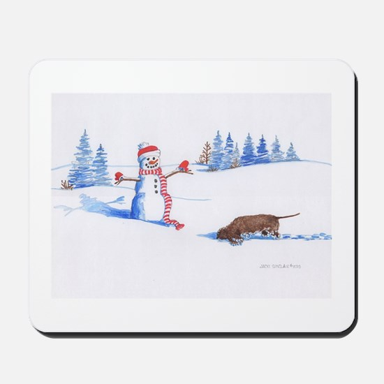 IWS and Snowman #1 Mousepad