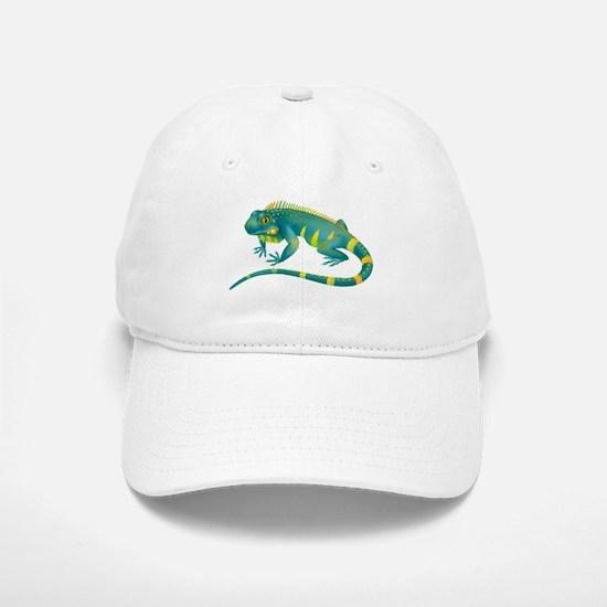 Iguana Baseball Baseball Cap