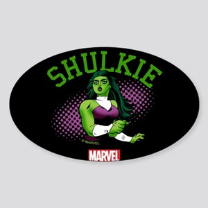 She-Hulk Shulkie Tumbler Sticker