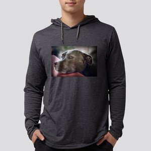 Loving Pitbull Eyes Long Sleeve T-Shirt