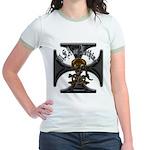Veterans USA or Nothing Jr. Ringer T-Shirt