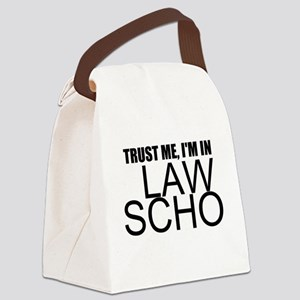 Trust Me, I'm In Law School Canvas Lunch Bag