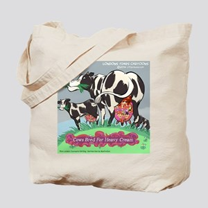 Cows Bred For Heavy Cream Tote Bag