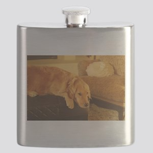 golden retriever relaxin Flask