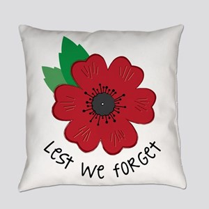 Lest we forget Everyday Pillow