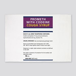 Prometh codeine 5'x7'Area Rug