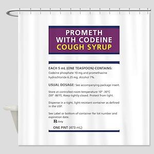 Prometh codeine Shower Curtain