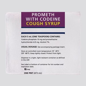 Prometh codeine Throw Blanket