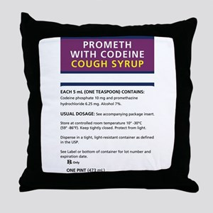 Prometh codeine Throw Pillow