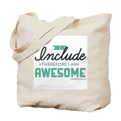 I Include Therefore Tote Bag