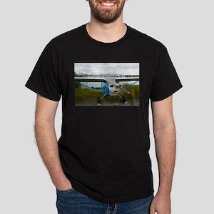 High wing aircraft, blue & white, Alas T-Shirt