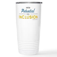 Unlock Potential Stainless Steel Travel Mug