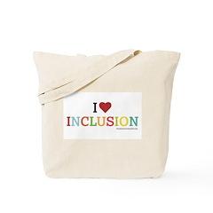 I Heart Inclusion Tote Bag