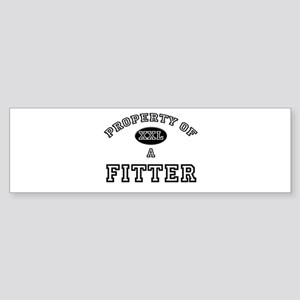 Property of a Fitter Bumper Sticker