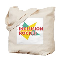 Inclusion Rocks Tote Bag