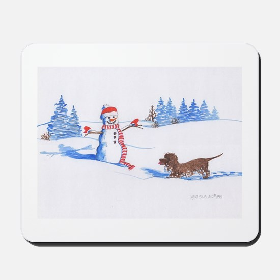 IWS and Snowman #2 Mousepad