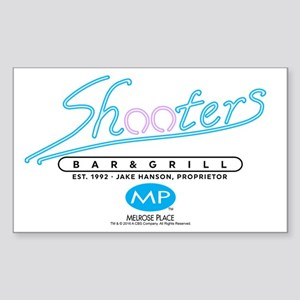 Melrose Place: Shooters Sticker (Rectangle)