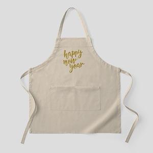 Happy New Year Apron