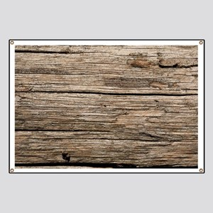 WEATHERED WOOD Banner