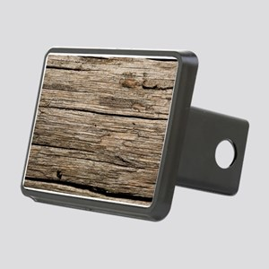 WEATHERED WOOD Rectangular Hitch Cover