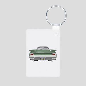 1960 Ford Aluminum Photo Keychain