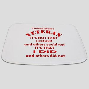 US Vet I Did Because Bathmat