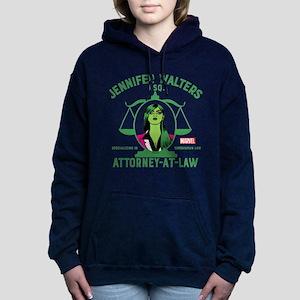 She-Hulk Attorney-At-Law Women's Hooded Sweatshirt