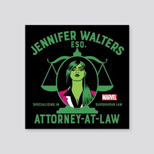 She-Hulk Attorney-At-Law Shower Curtain Sticker