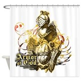 Armor of god Shower Curtains