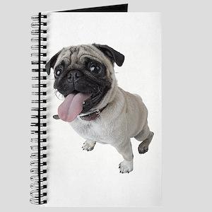 Pug Close Up Photo Journal
