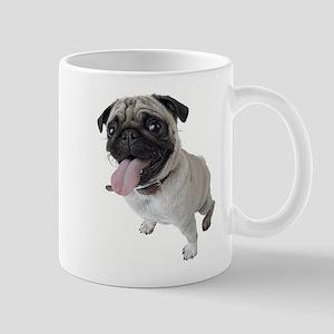 Pug Close Up Photo Mugs